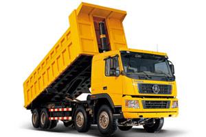 大运重卡 潍柴340马力 8X4 自卸车