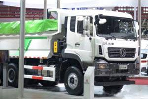 亮点多!东风商用车推出第四代东风大力神环保渣土车