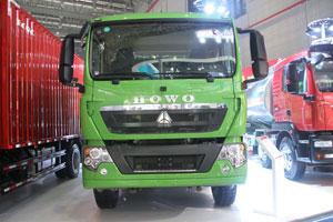 中国重汽HOWO T5G 国五 350马力6X4 智能渣土车