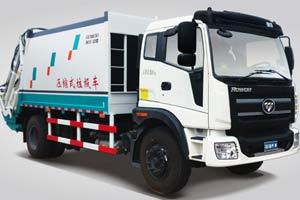 福田瑞沃  瑞沃中驰 168马力 10吨压缩垃圾车
