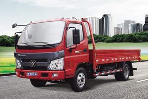 福田瑞沃康明斯国四141马力 4×2 单排平板载货车
