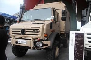 梅赛德斯-奔驰乌尼莫克(Unimog)U5000 4X4移动维修车底盘