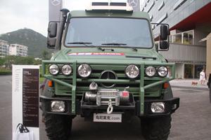 梅赛德斯-奔驰乌尼莫克(Unimog)U4000 4X4越野底盘