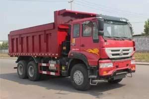 多重优势于一体 中国重汽推卸式自卸车