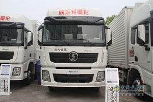陕汽重卡 德龙x3000 270马力 6x2 国四 平板载货车