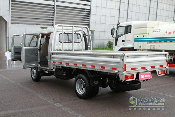 时代汽车 驭菱V5 双排平板 载货车(外饰) - 外观