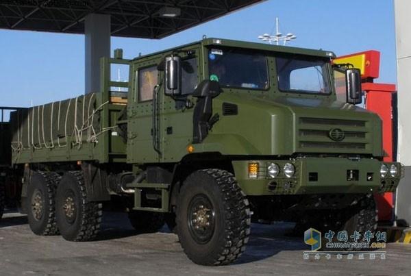 一汽解放新一代军用卡车