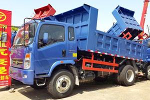 中国重汽 豪曼 130马力 4X2 自卸车