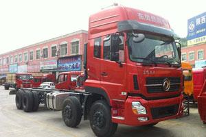 东风 天龙重卡 315马力 8X4 载货车