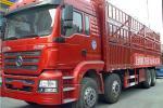 陕汽宝华 轩德重卡 310马力 8X4 9.5米仓栅式载货车