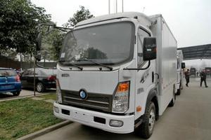 重汽王牌 7系 75马力 4.15米单排厢式轻卡(电动车)