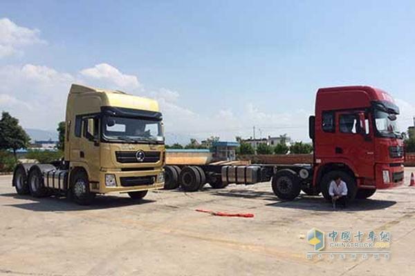 由陕西重型汽车有限公司联合 西安康明斯发动机有限公司,红河瑞德汽车