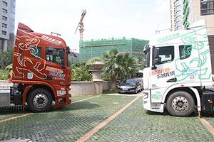 向淋水时代发起革命 联合卡车呼吁改善重卡制动安全
