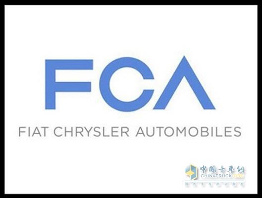 菲亚特克莱斯勒汽车公司标志-FCA因安全气囊等存隐患在美召回173万高清图片