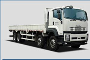 庆铃汽车 五十铃350马力6X4重型载货车(额载19305kg)