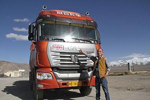 青藏线上追联合 联合卡车U420夺冠表现