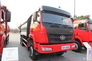 一汽柳特 龙威(L5P)重卡 350马力 6X4 自卸车