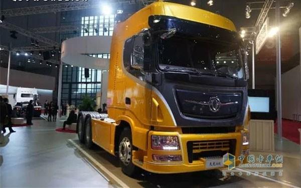 公司的国产重卡车型全部采用东风商用车