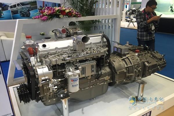 玉柴混合动力专用发动机