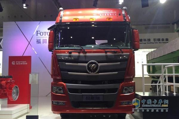 福田戴姆勒欧曼GTL超能版460+-承包运输一条龙 福田汽车2015中国国高清图片