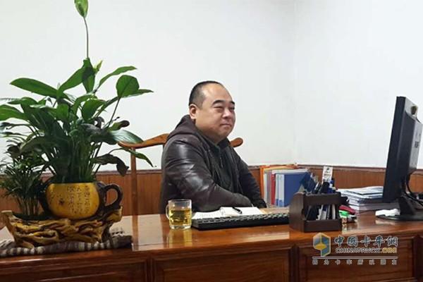 陕西大黄蜂冷链物流有限公司负责人蒋逻宾