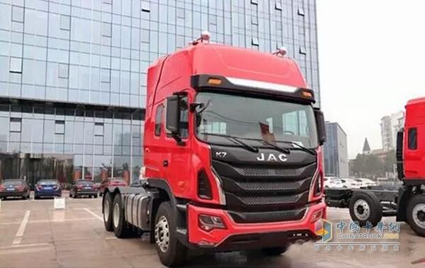 目前,k7定位为格尔发k系列的高端车型,包含牵引车和载货车等车型,预计
