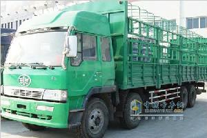 一汽解放新大威重卡280马力8×4载货车CA5311XXYP2K2L7T4EA80-1
