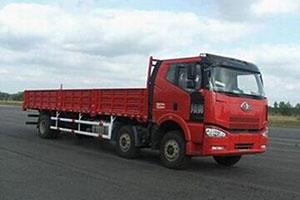 一汽解放 J6M中卡 280马力 6X2 栏板载货车