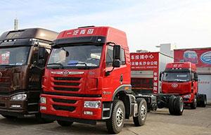一汽青岛解放 悍V重卡 220马力 6X2 载货车