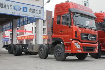 东风天龙 350马力 8X4 载货车