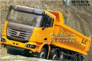 联合卡车 420马力 8×4 自卸车