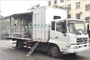 东风商用车 天锦 320马力 8×4 救灾水净化应急多功能车