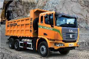 联合卡车 375马力 8×4 LNG自卸车(SQR3311N6T6-1)