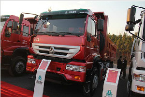 中国重汽 金王子重卡 340马力 6X4 国四 自卸车