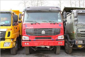 中国重汽 HOWO重卡 340马力 6X4 LNG自卸车