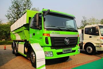 福田戴姆勒 欧曼ETX 9系重卡 310马力 6X4 自卸车(环保渣土车)