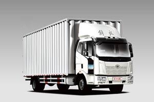 一汽解放J6L 180马力4×2厢式载货车(加强型/BF4M1013机/7700mm厢)