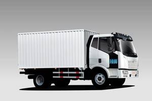 一汽解放J6L 180马力4×2厢式载货车(复合型/BF6M2012/7700mm厢)