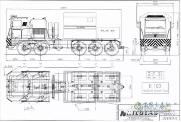 世界柴油发动机_无可匹敌 世界上最大的公路牵引车能拉600T!_中国卡车网