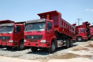 中国重汽 HOWO重卡 290马力 6X4 自卸车