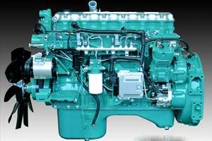 国五260马力 6.6L发动机