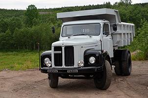 老车故事多,经历三大洲考验的斯堪尼亚L110老车