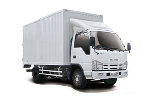 庆铃汽车 五十铃100P 98马力 4.25米单排厢式轻卡(宽体)