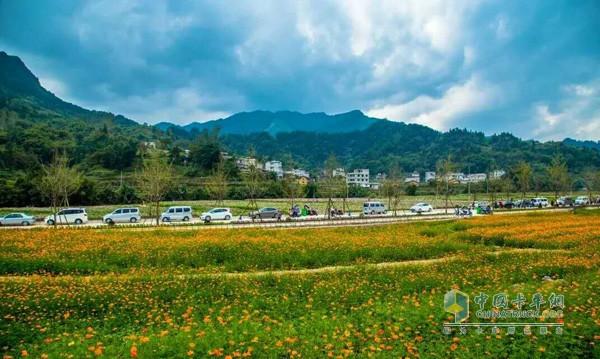 """东风柳汽 """"因路而生""""中国卡车司机摄影大赛风景篇获奖"""