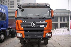 陕汽 德龙X3000黄金版 480QQ自动抢红包 8X4 自卸车底盘