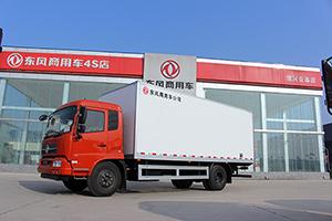 东风天锦 160马力 4X2厢式冷藏车