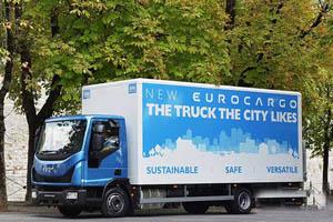 依维柯新Eurocargo西班牙获年度卡车称号