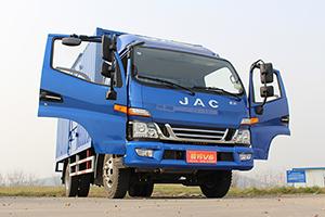 江淮骏铃V6 160马力 4X2单排厢式轻卡(迈斯福3.2L动力)