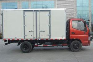 福田欧马可3系山区版 156马力 4×2厢式轻卡(BJ5129VGBEA-FA)