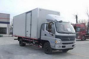 福田欧马可5系轻抛型4700轴距 170马力 4×2厢式轻卡(B